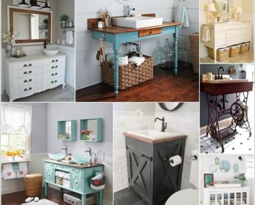 10 DIY Bathroom Vanity Designs