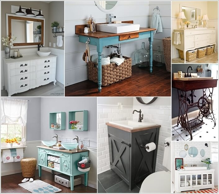 Diy Bathroom Ideas: 10 DIY Bathroom Vanity Designs You Will Love