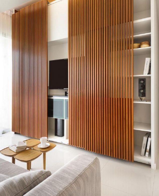 Wooden Screens For Indoor And Outdoor