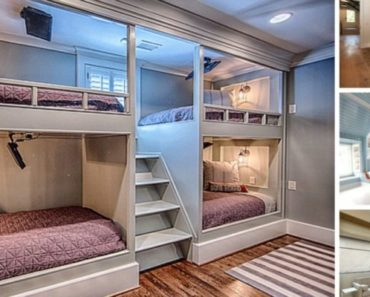 Modern Bunk Bed With Lighting