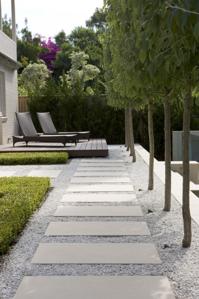 Modern Garden Walkways for Home Outdoor Sitting