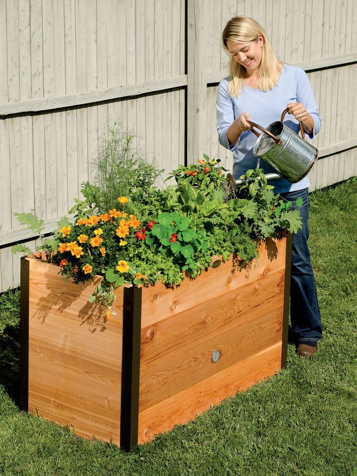 DIY Flower Beds