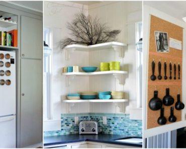 Kitchen Storage Spots