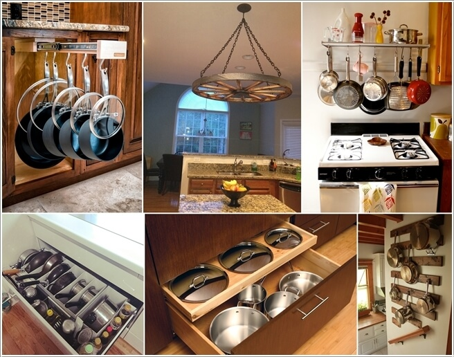 Clever Ideas To Store Pots And Pans Fancy Diy Art