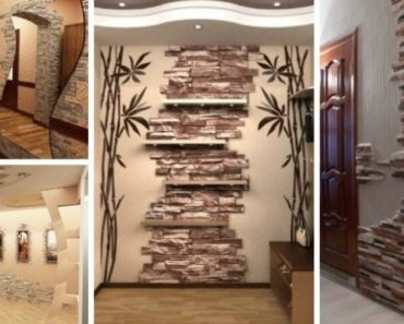 Artistic Stacked Stone Walls
