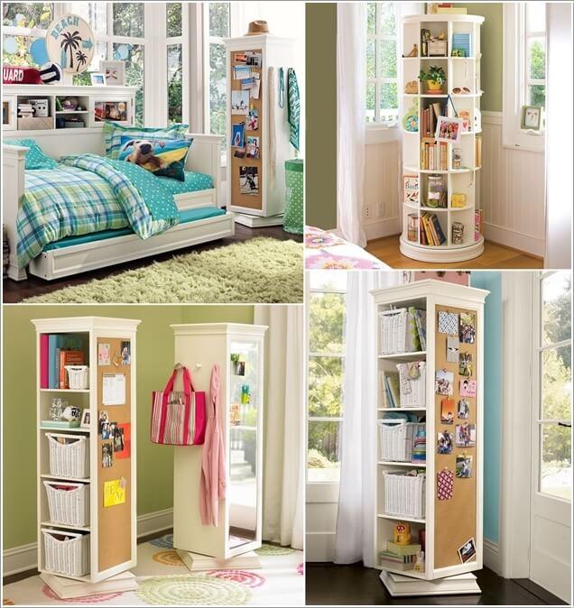 Storage Ideas for a Small Bedroom - FancyDiyArt