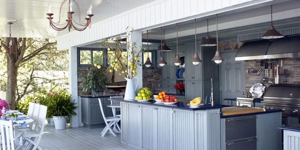 21 Incredible Outdoor Kitchen Ideas Fancy Diy Art